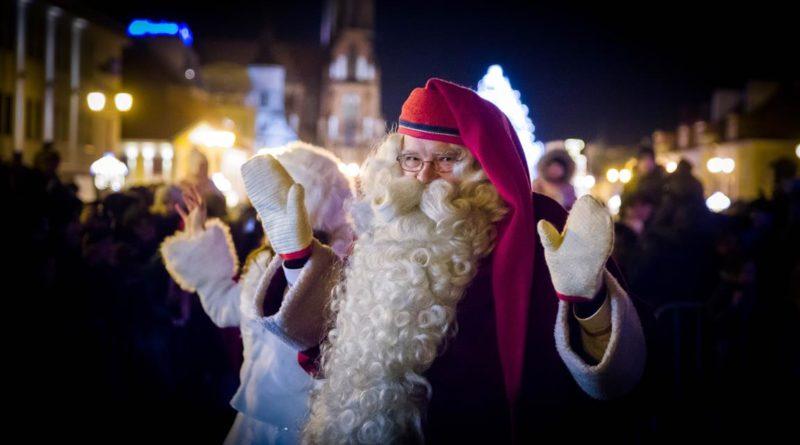 Wstępna fotorelacja z wizyty Mikołaja w Białymstoku